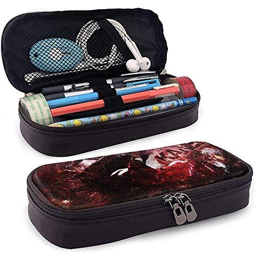 Nieuw ontwerp lederen potlood Case School briefpapier doos Kaneki Ken gecumuleerd potlood geval, make-up geval, gereedschapskist