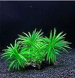 Teydhao - Plantas Artificiales para Acuario de Tela de Seda, tamaño Grande, no tóxicas y seguras para Todos los Peces y Mascotas