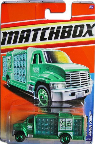2011 Matchbox City Action 12 of 14 AQUA KING #71 GREEN (Emerald Waters)