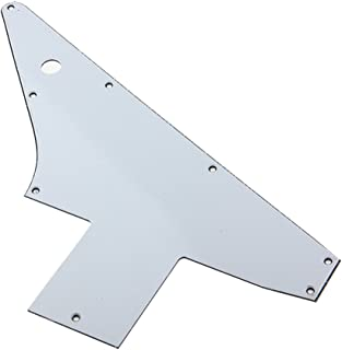 76 Explorer Re-Issue Style Guitar Pick Guard ,3ply White