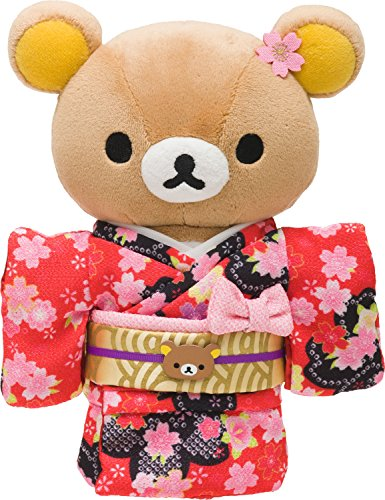 Rilakkuma (Rilakkuma) kimono Atsumete stuffed animals Rilakkuma height 21cm