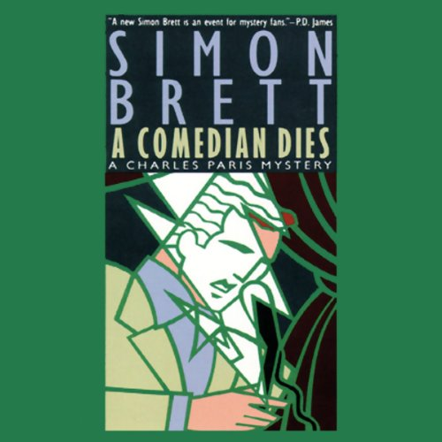 A Comedian Dies audiobook cover art
