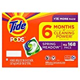 Tide PODS Liquid Laundry Detergent Pacs, Spring Meadow (168 ct.) ES