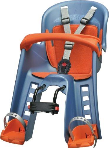 Polisport Bilby 41503 - Portabebé de ciclismo, color azul y naranja