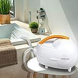 Medisana MBH Luftsprudelmatte mit Aromaspender – Whirpoolmatte mit 3 Intensitätsstufen – für die Lockerung von verspannter Muskulatur – für jede Badewanne geeignet – 2. Generation – 88377 - 8