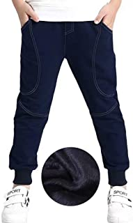 Boy's Cotton Sweatpants, Age 4T-14 (4-14 Years)