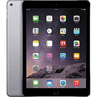 Apple iPad Air 2, 64 GB, Space Gray, (Certified Refurbished)