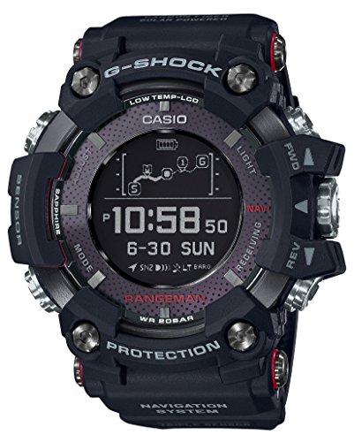 [カシオ] 腕時計 ジーショック RANGEMAN ソーラー アシスト GPS ナビゲーション GPR-B1000-1JR メンズ ブラ...