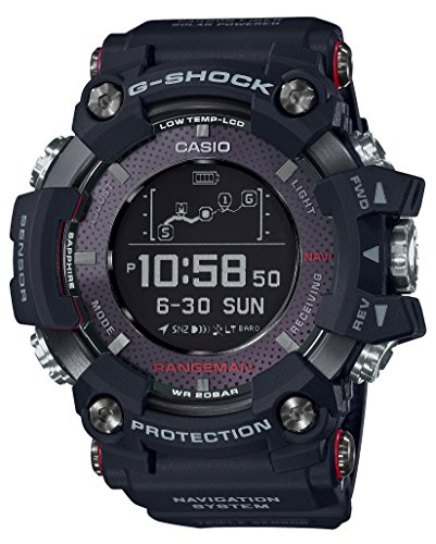 Casio G-SHOCK RANGEMAN Solar-Assisted GPS Navigation GPR-B1000-1JR Mens...