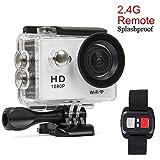 Beaspire Action Cam Sport Kamera 4K 1080p ultra HD 12M Helmkamera Wifi HDMI 30M Wasserdicht...
