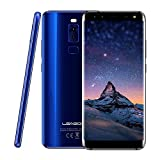 LEAGOO S8 3GB+32GB 5.72 inch Dual Curved Edge LEAGOO OS 4.0 (Android 7.0) MTK6750T Octa Core up to 1.5GHz WCDMA & GSM & FDD-LTE (Blue)