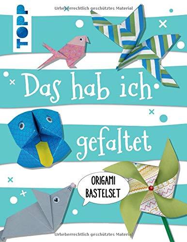 Kreativ-Set Das hab ich gefaltet: Buch mit 40 Wackelaugen und 70 Faltblättern in 14 Motiven (Buch plus Material)
