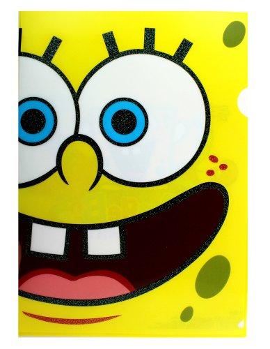 Nickelodeon Spongebob Squarepants 2 Piece Paper Protector Set - Kids Portfolios