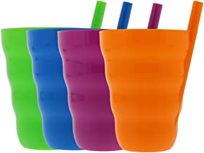 Best plastic cup with built in straw Reviews
