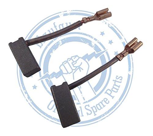 1 Paar ( 2Stück ) Kohlebürsten Kohlestifte kompatibel passend für Bosch Akku Bohrhammer Kreissäge GBH 24 VRE,24 VSR,GKS 18,GKS 24