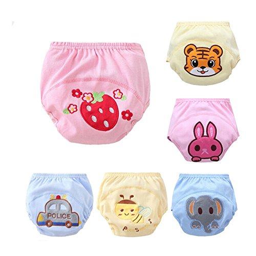 Baby Kleinkind Mädchen Jungen Pipi Potty Training Pants Windel Set Mehrfarbig