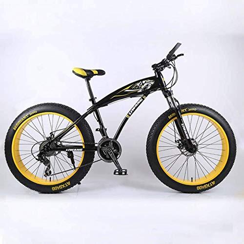 CENPEN Deportes al Aire Libre de 24'/ 26' 27Speed de Bicicletas de montaña, Noria Moto de Nieve, Doble Freno de Disco, Fuerte absorción de Golpes Frente Tenedor, al Aire Libre Campo a través Bici d