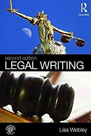 [(Legal Writing)] [By (author) Lisa Webley] published on (August, 2009)