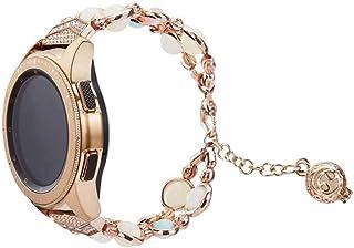 UKCOCO Compatible pour Bracelet de Montre Samsung Galaxy - Bracelet de Remplacement de Montre 42Mm Bracelet Bracelet de Bi...