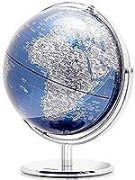 ライフデコレーション2In1LEDワールドグローブデスクトップデコレーション地理的インタラクティブアースグローブ子供と大人向け教育玩具A32cm / 12.59inch