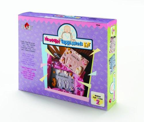 Plaid 19968 Newborn Impressions Handmold Kit, 2-Pack