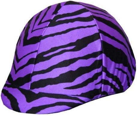 Equestrian Riding Helmet online shop Cover Purple - Special Campaign Zebra