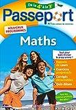 Passeport - Maths de la 4e à la 3e - Cahier de vacances 2021
