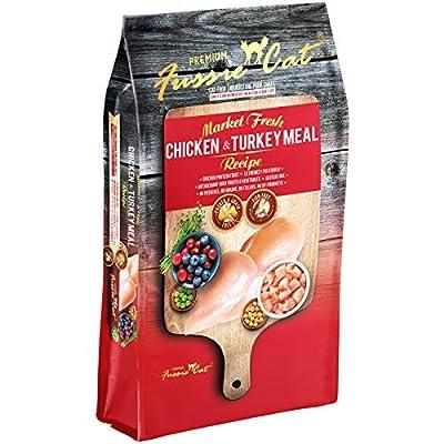 Fussie Cat Market Fresh Chicken & Turkey Meal Formula Grain-Free Dry Cat Food 2lb