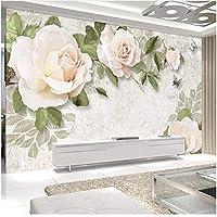 Xbwy 装飾壁画花の壁紙壁画リビングルームの背景の壁の装飾壁画-150X120Cm