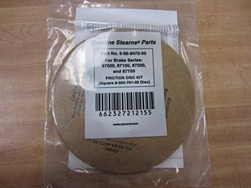 STEARNS 5-66-8472-00 Friction DISC KIT, for Brake Series 8700/87100/87200/87700, 7-1/4 INCH Outer Diameter