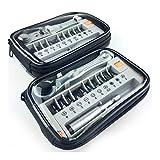 12 unids/set mini destornillador de mano portátil destornillador multifuncional destornillador destornillador destornillador doméstico para reparación conjunto de herramientas (tamaño: 2011A)