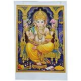 Bild Ganesha 50 x 70 cm Gottheit Hinduismus Kunstdruck
