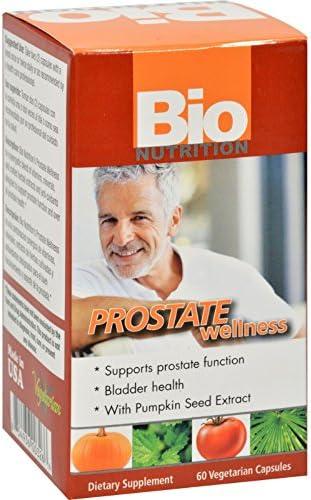 Bio Nutrition Prostate Wellness Bladder Health Gluten Free 60 Vegetarian Capsules Pack of 2 product image