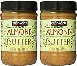 KIRKLAND SIGNATURE Creamy Almond Butter, 1.68 Pound (Pack of 2)
