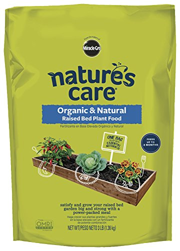 Nature#039s Care Organic amp Natural Raised Bed Plant Food 3 lb