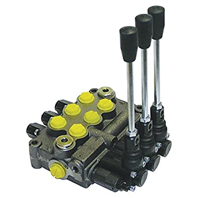 Prince Hydraulic Control Valve - 8 GPM, 3-Spool, Model# MB31BBB5C1 from Prince