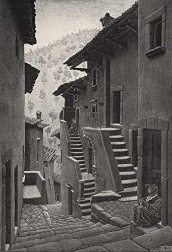 Escher Poster 42 cm 70x100 Poster Affiche Plakat Fine Art Il Negozio di Alex
