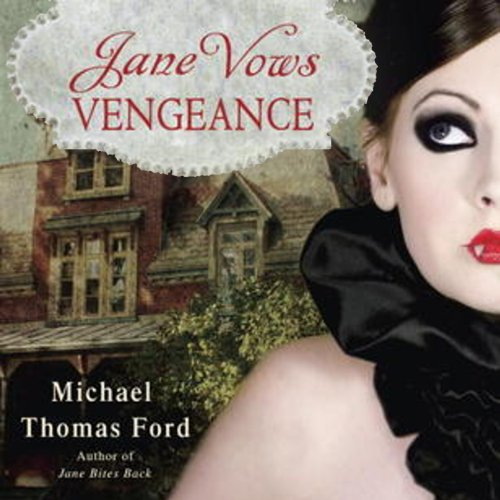 Jane Vows Vengeance audiobook cover art