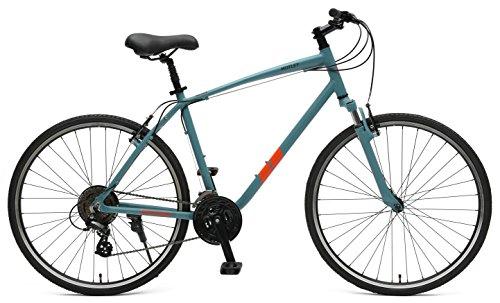 Retrospec Bikes Motley Bicicleta híbrida de 21 velocidades, Pel