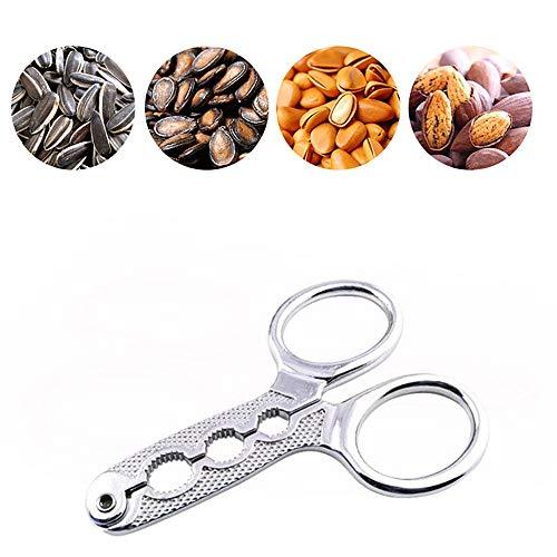 Milter Kartoffelschneider, Sheller Walnut Pine Melonensamen Zange Scissor Nut Cracker Opener