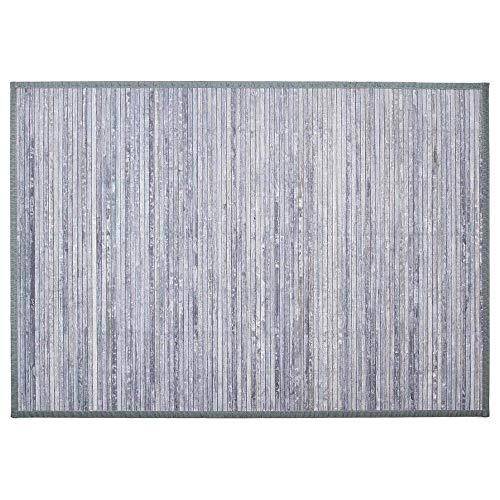 Lattenrost aus Bambus hellgrau 120X170