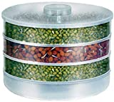 Voetex Zone Sprout Maker   Plastic Sprout Maker Box   Hygienic Sprout Maker with 4 Container  ...