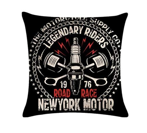 Kustom Factory - Cojín para moto Legendery Riders