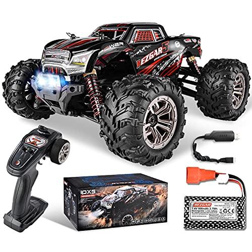 BEZGAR 5 Rc Auto Maßstab 1:20, 30 Km/h Alle Terrains 4WD Ferngesteuertes Auto Elektrisches Spielzeug Offroad RC Fahrzeug Car Crawler mit wiederaufladbaren Batterien Geschenke für Kinder
