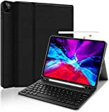 ProElite Detachable Wireless Bluetooth Keyboard Smart flip case Cover for Apple iPad Pro