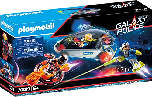 PLAYMOBIL Galaxy Police 70019 Police-Glider, mit Lichteffekten, ab 5 Jahren