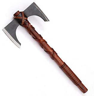 Armory Replicas Forged Carbon Steel Iroquois Throwing Axe 12 Inches Total Length Mini Hatchett