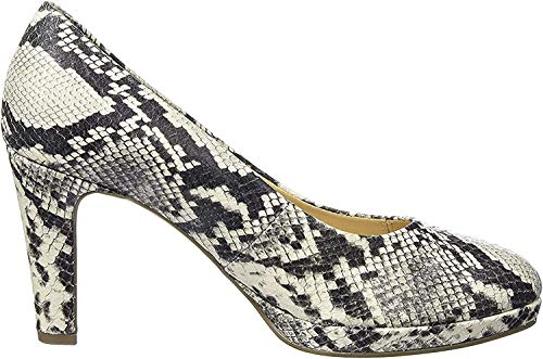 Gabor Shoes Damen Fashion Pumps, Grau (Grau 59), 40.5 EU