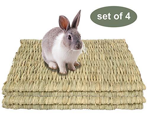 Grass Pet Mats for Small Animals (4 Pack (15' x 11'))