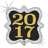 Glittering 2017 Mylar Balloon